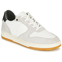 Chaussures Baskets basses Clae MALONE Blanc / Gris