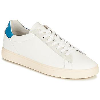 Chaussures Baskets basses Clae BRADLEY CALIFORNIA Blanc / Bleu