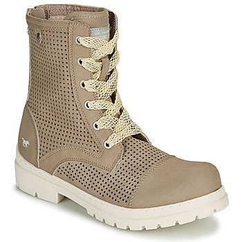 Chaussures Femme Boots Mustang FRAPINA Beige