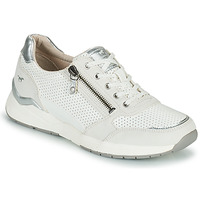 Chaussures Femme Baskets basses Mustang ANINTA Blanc / Argent