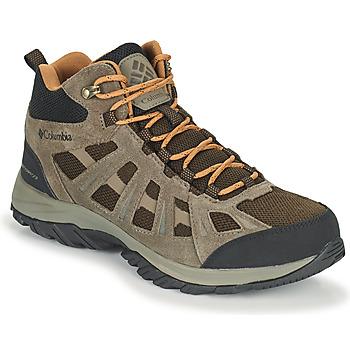 Chaussures Homme Randonnée Columbia REDMOND III MID WATERPROOF Marron