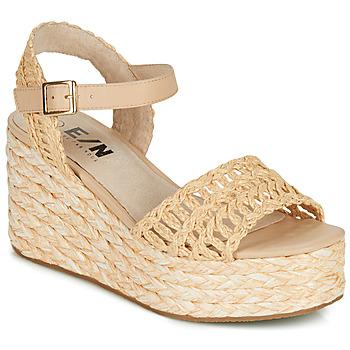 Chaussures Femme Espadrilles Elue par nous JISPY Beige