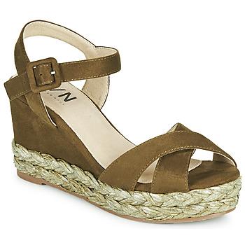 Chaussures Femme Sandales et Nu-pieds Elue par nous JOHAN Vert