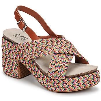 Chaussures Femme Sandales et Nu-pieds Elue par nous JOMARIN Beige