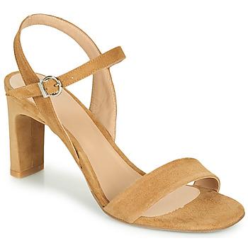 Chaussures Femme Sandales et Nu-pieds Perlato 11797-CAM-CAMEL Camel