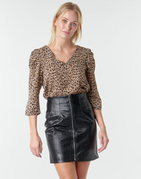 Vêtements Femme Tops / Blouses Moony Mood NOULIETTE Beige / Marron