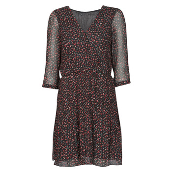 Vêtements Femme Robes courtes Moony Mood NOULINE Noir / Rouge