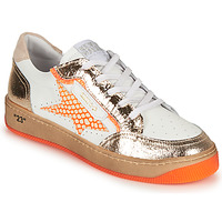 Chaussures Femme Baskets basses Semerdjian ARTO Blanc / Orange