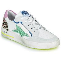 Chaussures Femme Baskets basses Semerdjian ARTO Blanc / Gris / Bleu