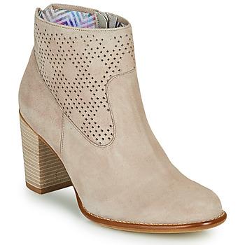 Chaussures Femme Bottines Dorking ALEXA Beige