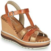 Chaussures Femme Sandales et Nu-pieds Dorking TOTEM Marron
