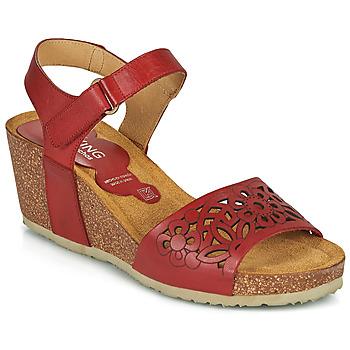 Chaussures Femme Sandales et Nu-pieds Dorking PALMA Rouge