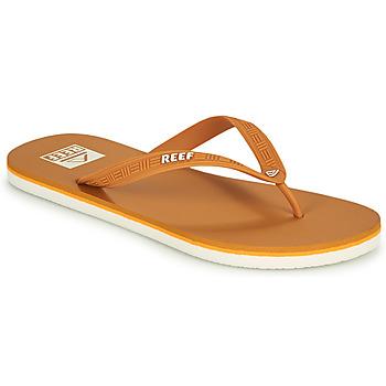 Chaussures Homme Tongs Reef REEF SEASIDE Moutarde