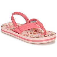 Chaussures Fille Tongs Reef LITTLE AHI Rose