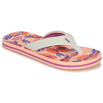 Chaussures Fille Tongs Reef KIDS AHI Rose