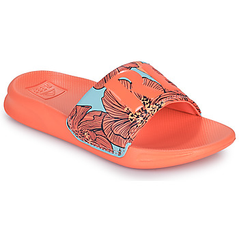 Chaussures Fille Claquettes Reef KIDS ONE SLIDE Orange