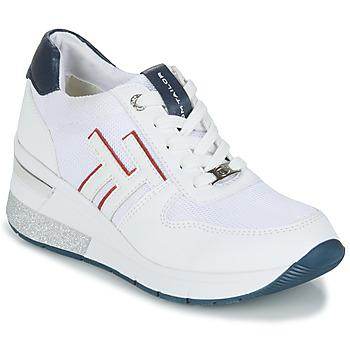 Chaussures Femme Baskets basses Tom Tailor JISEL Blanc