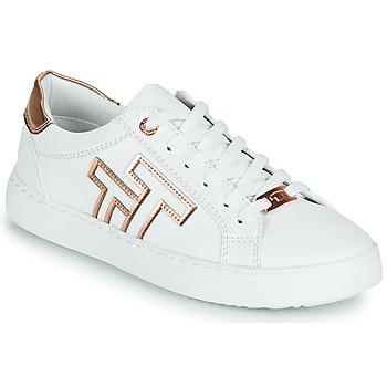 Chaussures Femme Baskets basses Tom Tailor POUCE Blanc