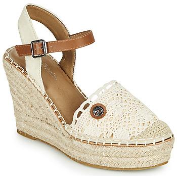 Chaussures Femme Sandales et Nu-pieds Tom Tailor DEB Crème