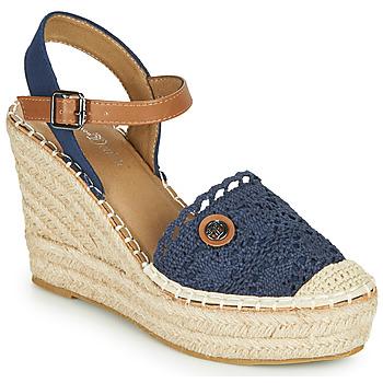 Chaussures Femme Sandales et Nu-pieds Tom Tailor DEB Marine