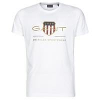 Vêtements Homme T-shirts manches courtes Gant ARCHIVE SHIELD Blanc