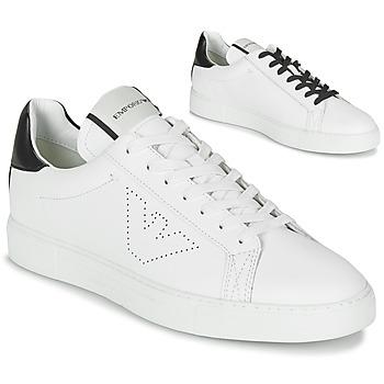 Chaussures Homme Baskets basses Emporio Armani BELGA Blanc