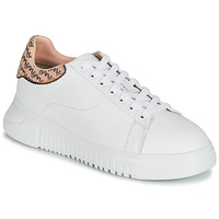 Chaussures Femme Baskets basses Emporio Armani AMERACI Blanc / Rose