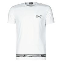 Vêtements Homme T-shirts manches courtes Emporio Armani EA7 3KPT05-PJ03Z-1100 Blanc