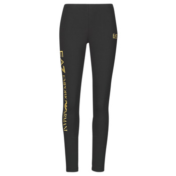 Vêtements Femme Leggings Emporio Armani EA7 8NTP63-TJ01Z-0200 Noir / Doré