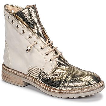 Chaussures Femme Boots Fru.it 6846-480-PLATINO Doré