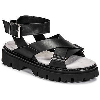 Chaussures Femme Sandales et Nu-pieds Fru.it 6757-100-NERO Noir