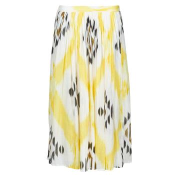 Vêtements Femme Jupes One Step JOSEPHINE Jaune / Multicolore