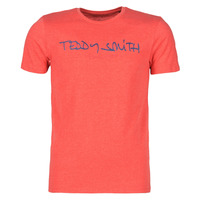 Vêtements Homme T-shirts manches courtes Teddy Smith TICLASS Rouge