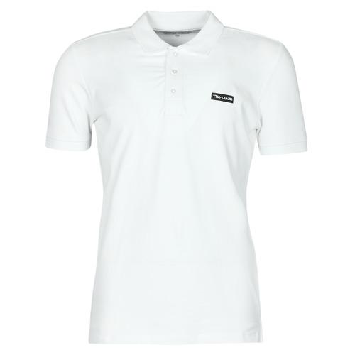Vêtements Homme Polos manches courtes Teddy Smith P-NARK Blanc
