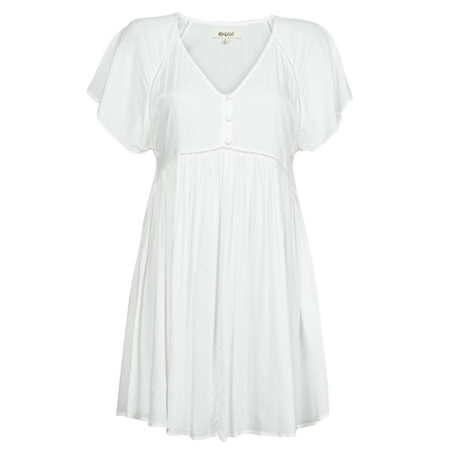 Vêtements Femme Robes courtes Rip Curl IN YOUR DREAMS DRESS Blanc