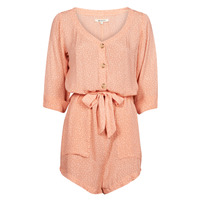Vêtements Femme Combinaisons / Salopettes Rip Curl TALLOWS SPOT ROMPER Peche