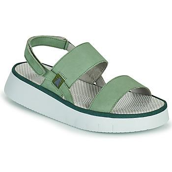 Chaussures Femme Sandales et Nu-pieds Fly London CURA Vert