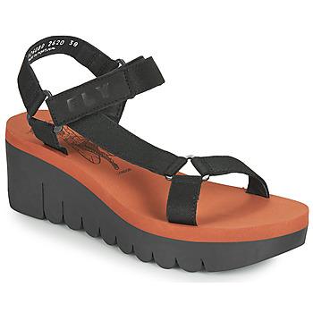 Chaussures Femme Sandales et Nu-pieds Fly London YEFA Noir