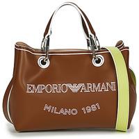 Sacs Femme Sacs porté main Emporio Armani BORSA SHOPPING Camel