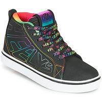 Chaussures Fille Chaussures à roulettes Heelys RACER 20 MID Noir / Multicolore