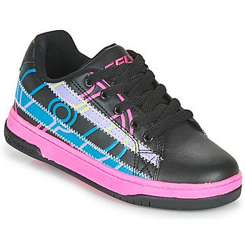 Chaussures Fille Chaussures à roulettes Heelys SPLINT Noir / Multicolore