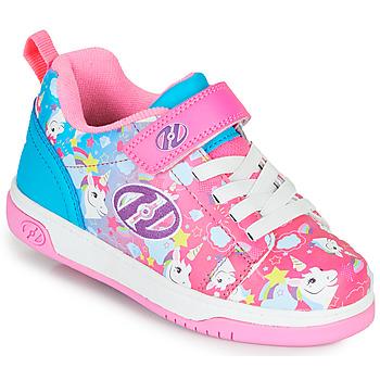 Chaussures Fille Chaussures à roulettes Heelys DUAL UP X2 Rose / Bleu