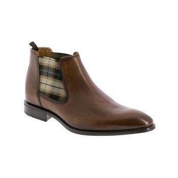 Chaussures Homme Boots André CABALLO Cognac