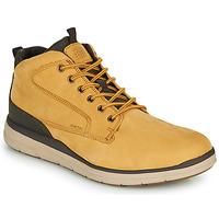 Chaussures Homme Baskets montantes Geox U HALLSON Marron