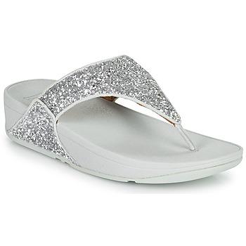Chaussures Femme Tongs FitFlop LULU GLITTER Argenté