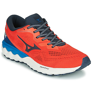 Chaussures Homme Running / trail Mizuno WAVE SKY RISE 2 Rouge