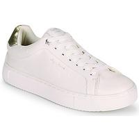 Chaussures Femme Baskets basses Pepe jeans ADAMS MOLLY Blanc / Doré