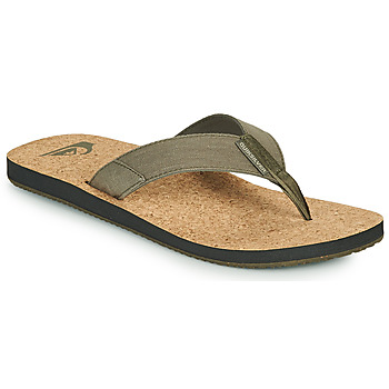 Chaussures Homme Tongs Quiksilver MOLOKAI ABYSS NATURAL Beige