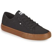 Chaussures Homme Chaussures de Skate DC Shoes MANUAL Noir / Gum