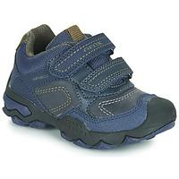 Chaussures Garçon Baskets basses Geox J BULLER BOY B ABX Bleu